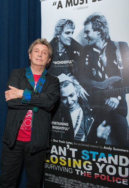 Q A With Andy For The Los Angeles Premiere Of Can T Stand Losing You Surviving The Police Tickets Now On Sale Andy Summersandy Summers