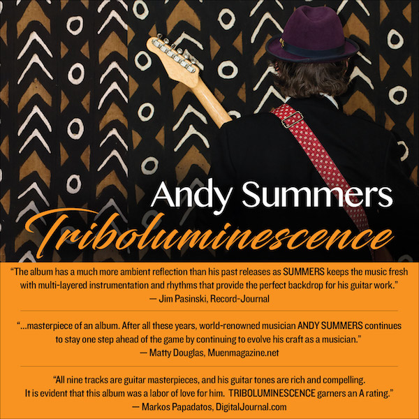 Andy Summers Triboluminescence