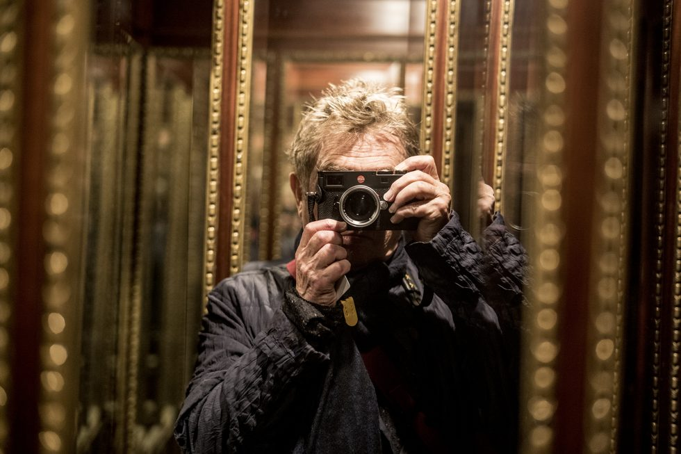 Andy Summers with Leica