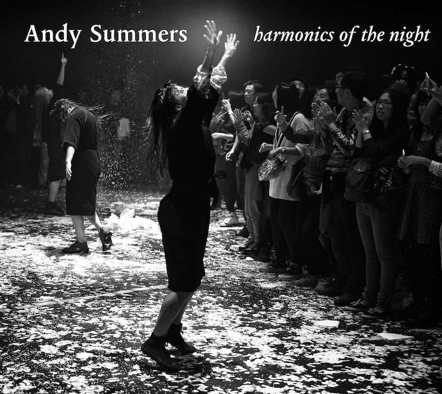Andy Summers Harmonics of the Night Album Cover